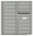 Florence 4C Mailboxes 4C09D-16 Silver Speck