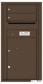 Florence 4C Mailboxes 4C09S-02 Antique Bronze