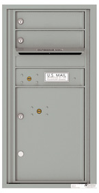 Florence 4C Mailboxes 4C09S-02 Silver Speck