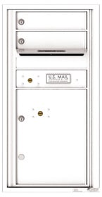 Florence 4C Mailboxes 4C09S-02 White