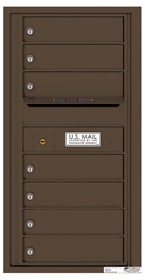 Florence 4C Mailboxes 4C09S-07 Antique Bronze