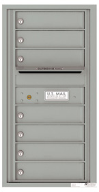 Florence 4C Mailboxes 4C09S-07 Silver Speck