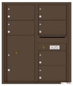 Florence 4C Mailboxes 4C10D-06 Antique Bronze