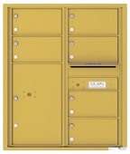 Florence 4C Mailboxes 4C10D-06 Gold Speck