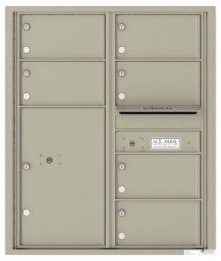 4C10D06 4C Horizontal Commercial Mailboxes