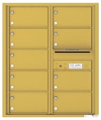 Florence 4C Mailboxes 4C10D-09 Gold Speck