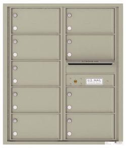 4C10D09 4C Horizontal Commercial Mailboxes