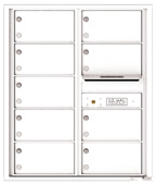 Florence 4C Mailboxes 4C10D-09 White