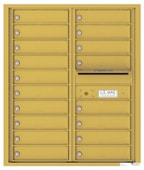 Florence 4C Mailboxes 4C10D-18 Gold Speck