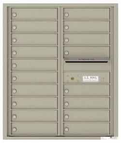 4C10D18 4C Horizontal Commercial Mailboxes