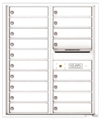Florence 4C Mailboxes 4C10D-18 White