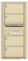 Florence 4C Mailboxes 4C10S-04 Sandstone