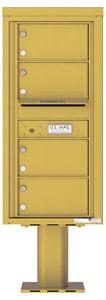 Florence 4C Pedestal 4C10S-04-P Gold Speck