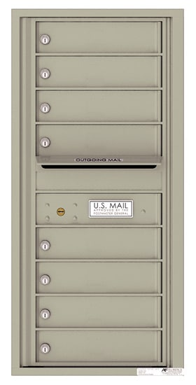 4C10S08 4C Horizontal Commercial Mailboxes