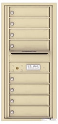 Florence 4C Mailboxes 4C10S-08 Sandstone