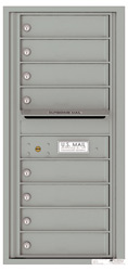 Florence 4C Mailboxes 4C10S-08 Silver Speck