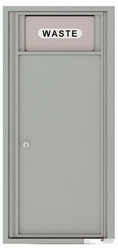 Florence 4C Mailboxes 4C10S-Bin Silver Speck