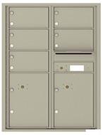 Florence 4C Mailboxes 4C11D-05 Postal Grey