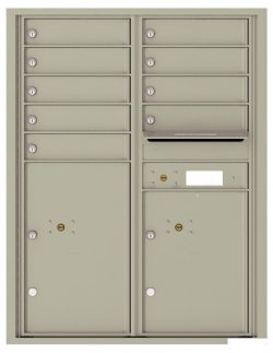 4C11D09 4C Horizontal Commercial Mailboxes
