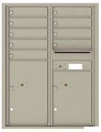 Florence 4C Mailboxes 4C11D-09 Postal Grey