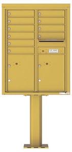 Florence 4C Pedestal 4C11D-10-P Gold Speck