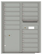 Florence 4C Mailboxes 4C11D-15 Silver Speck