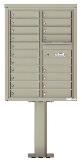 4C11D19-P Commercial 4C Pedestal Mailboxes