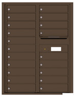 Florence 4C Mailboxes 4C11D-20 Antique Bronze