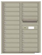 Florence 4C Mailboxes 4C11D-20 Postal Grey