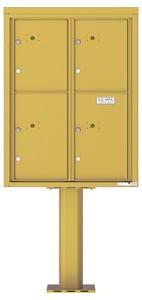 Florence 4C Pedestal 4C11D-4P-P Gold Speck