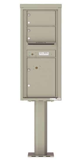 4C11S02-P Commercial 4C Pedestal Mailboxes