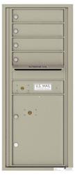 Florence 4C Mailboxes 4C11S-04 Postal Grey