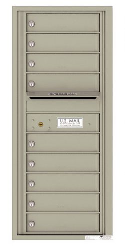 4C11S09 4C Horizontal Commercial Mailboxes