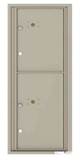 4C11S-2P Front Loading Private Use Commercial 4C Parcel Lockers – 2 Parcel Lockers