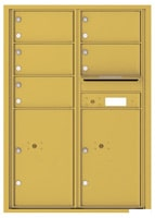 Florence 4C Mailboxes 4C12D-05 Gold Speck