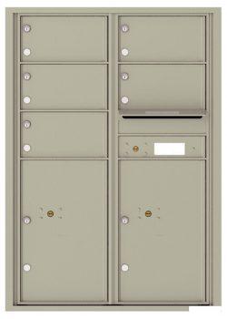 4C12D05 4C Horizontal Commercial Mailboxes
