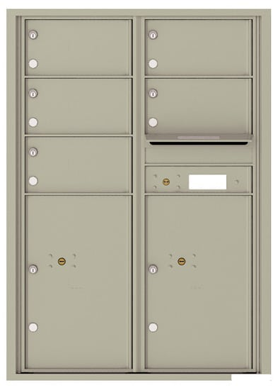4C12D05 4C Horizontal Commercial Mailboxes