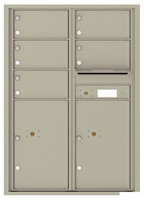 Florence 4C Mailboxes 4C12D-05 Postal Grey
