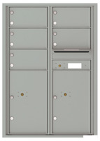 Florence 4C Mailboxes 4C12D-05 Silver Speck