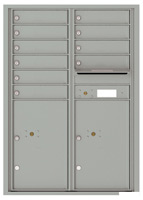 Florence 4C Mailboxes 4C12D-10 Silver Speck