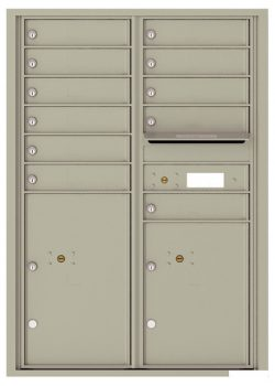 4C12D11 4C Horizontal Commercial Mailboxes