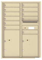Florence 4C Mailboxes 4C12D-11 Sandstone