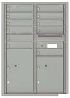 Florence 4C Mailboxes 4C12D-11 Silver Speck