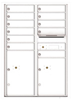 Florence 4C Mailboxes 4C12D-11 White