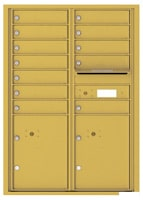 Florence 4C Mailboxes 4C12D-12 Gold Speck