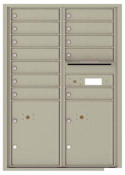 4C12D12 4C Horizontal Commercial Mailboxes