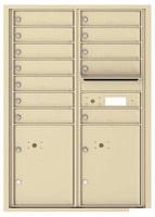 Florence 4C Mailboxes 4C12D-12 Sandstone