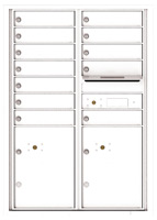 Florence 4C Mailboxes 4C12D-12 White