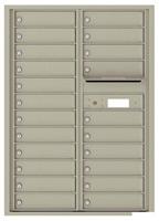 Florence 4C Mailboxes 4C12D-22 Postal Grey
