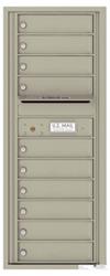 Florence 4C Mailboxes 4C12S-10 Postal Grey